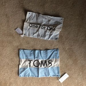 TOMS flag/bag/pouch (2 pack!!)